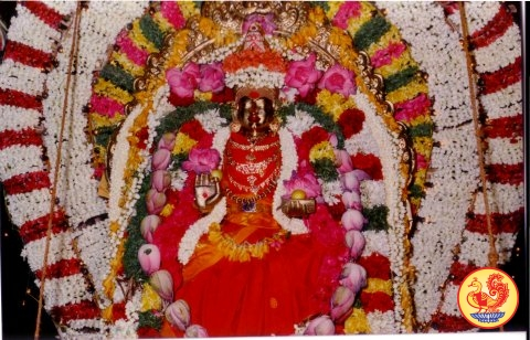 Sri Sharadamba at Tirupur Shankara Math