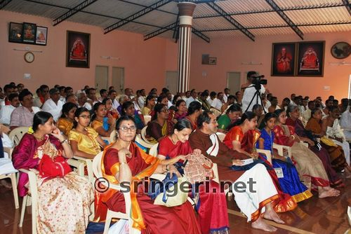 Sanskrit Of The Vedas Vs Modern Sanskrit: Sanskrit Teachers Meet At Sringeri