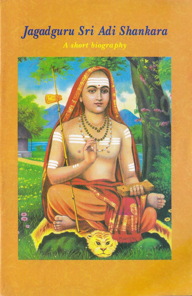 Biography of adi shankaracharya in sanskrit pdf
